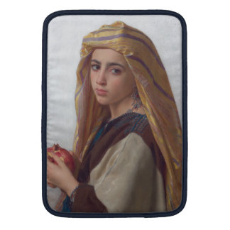 Chica con una granada de W.A. Bouguereau Funda MacBook