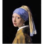 Chica con una perla esculturas fotograficas