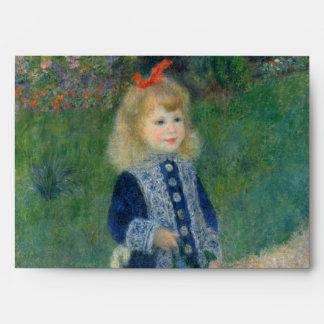 Chica con una regadera de Pierre-Auguste Renoir