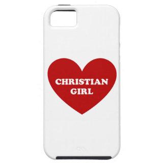Chica cristiano iPhone 5 fundas
