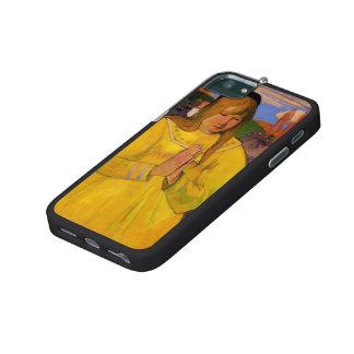 Chica cristiano joven de Paul Gauguin-