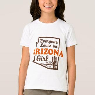 Chica de Arizona Playera