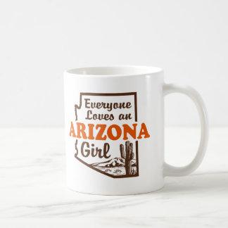 Chica de Arizona Taza
