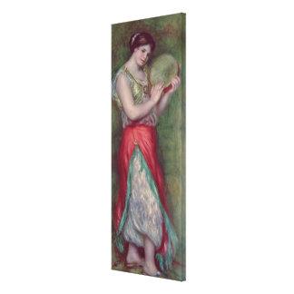 Chica de baile con Tambourine, 1909 Impresiones De Lienzo