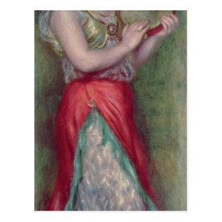 Chica de baile con Tambourine, 1909 Postales