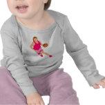 Chica de Bball Camiseta