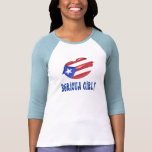 Chica de Boricua Camisetas