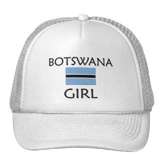 CHICA DE BOTSWANA GORRAS