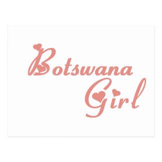 Chica de Botswana Tarjetas Postales