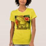 Chica de Botticelli Lotus de la belleza Camisetas