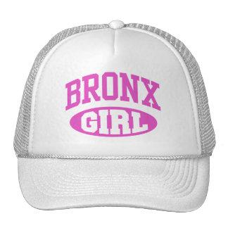 Chica de Bronx Gorras
