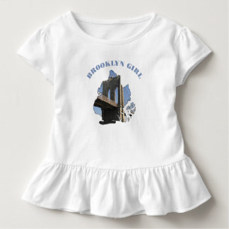 Chica de Brooklyn Playera De Bebé