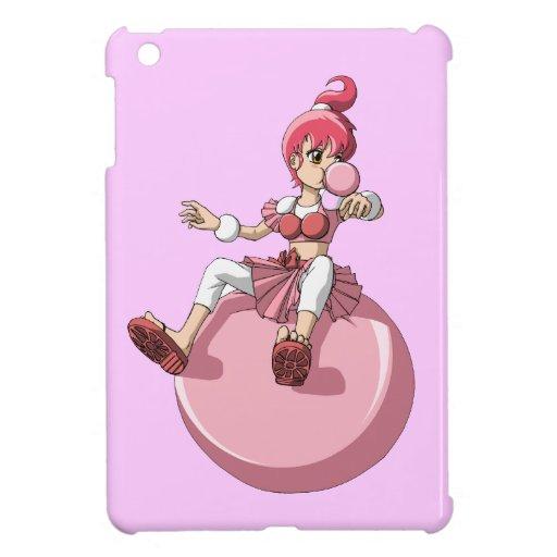 Chica de Bubblegum iPad Mini Cárcasas