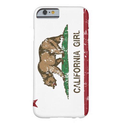 Chica de California Funda De iPhone 6 Barely There