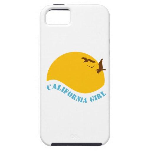 Chica de California iPhone 5 Fundas