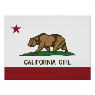 Chica de California Póster