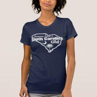 Chica de Carolina del Sur Camisas