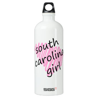 Chica de Carolina del Sur con Carolina del Sur