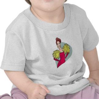 Chica de Cheeleader Camisetas