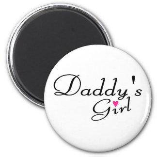 Chica de Daddys Imán Redondo 5 Cm