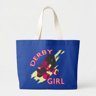 Chica de Derby Bolsa Tela Grande