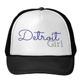Chica de Detroit Gorra