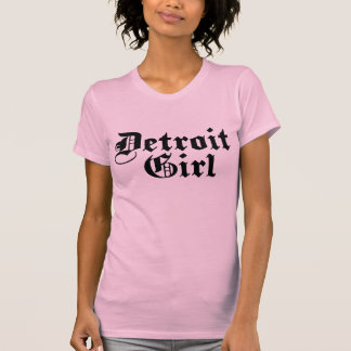 Chica de Detroit Remeras