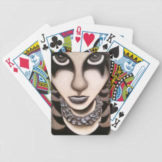 Chica de Emo Baraja Cartas De Poker