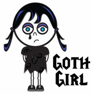 Chica de Emo del gótico Escultura Fotográfica