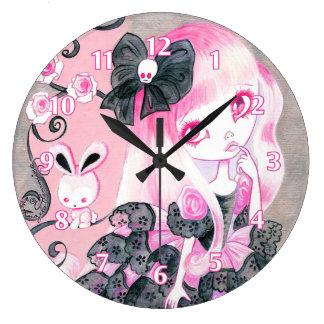Chica de Emo: Jennifer Reloj Redondo Grande