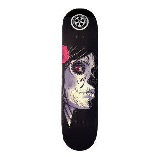 Chica de Emo Skate Board