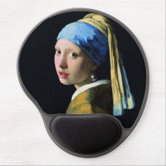Chica de enero Vermeer con un arte del Barroco del Alfombrilla Gel