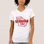 Chica de Georgia Camiseta