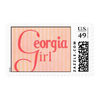 Chica de Georgia Franqueo