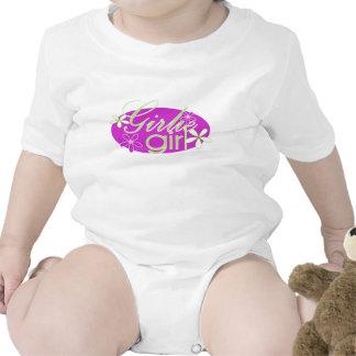 Chica de Girlie Traje De Bebé