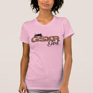Chica de GSXR - estampado leopardo Polera