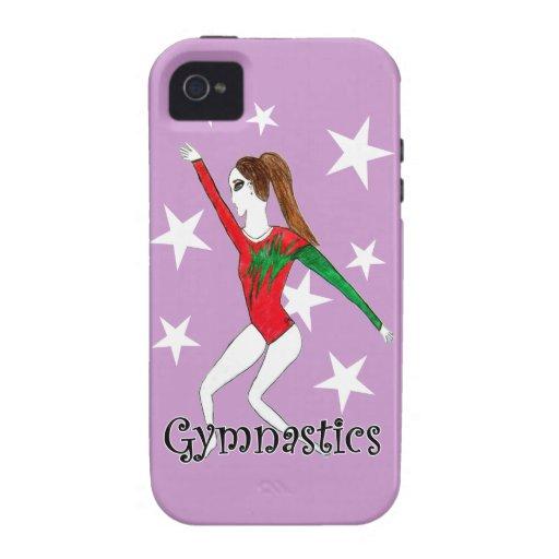Chica de Gymanstics iPhone 4/4S Carcasas