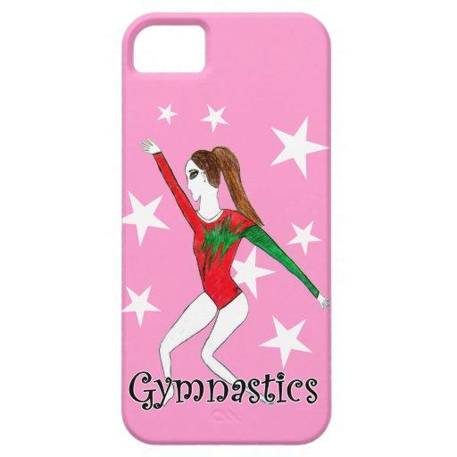 Chica de Gymanstics iPhone 5 Funda