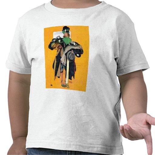 Chica de Hatcheck Camisetas