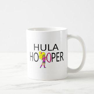Chica de Hula Hooper Taza De Café