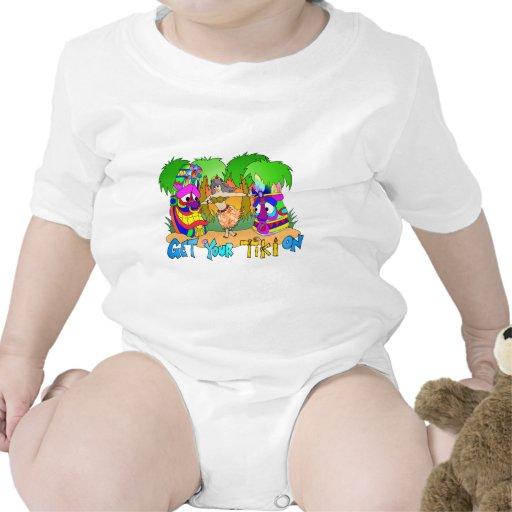 Chica de Hula Traje De Bebé