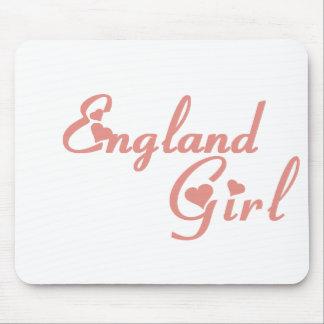 Chica de Inglaterra Tapete De Ratones