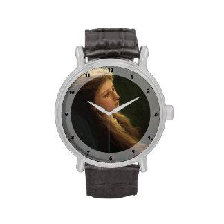 Chica de Ivan Kramskoy- A con su guadaña Relojes