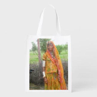 Chica de Jodhpur Bolsa Para La Compra