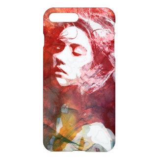 Chica de la acuarela - atrevimiento al amor funda para iPhone 7 plus