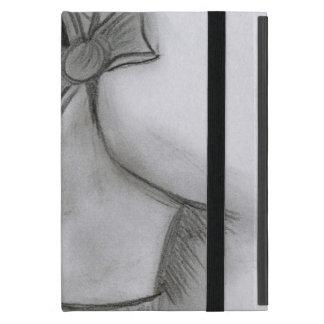 Chica de la aleta con el arco iPad mini fundas