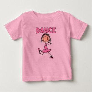 Chica de la bailarina camisas