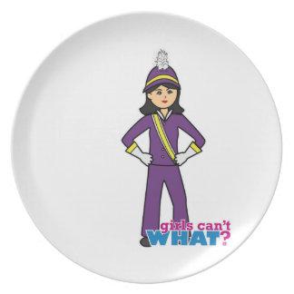 Chica de la banda - medio plato para fiesta