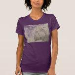 Chica de la cara del arte de la calle. por YOLE. Camisetas