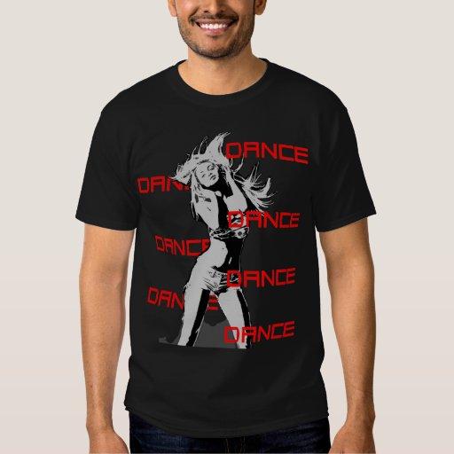 Chica de la danza de la danza de la danza camisas